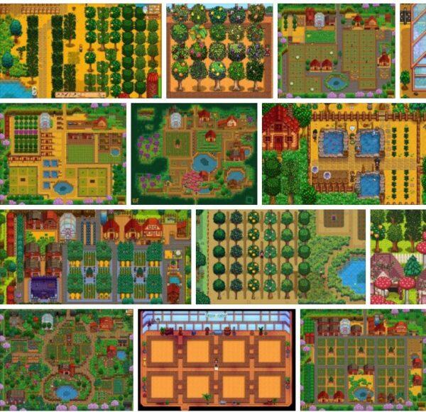 Stardew Valley Trees -  Valley Tree Farm ? **2021