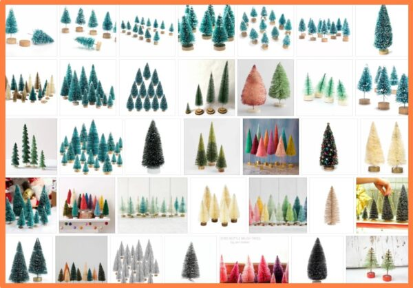 Bottle Brush Christmas Trees, What is a bottle brush Christmas tree?