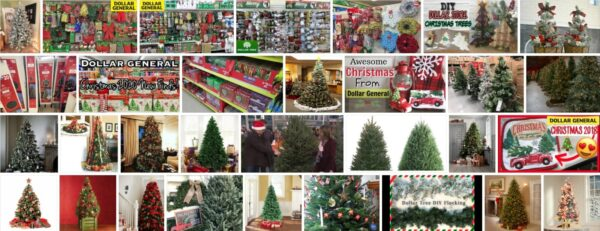 Dollar General Christmas Trees, Review 2021
