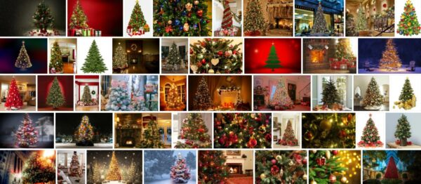 Flocked Christmas Trees, How to Flock a Christmas Tree