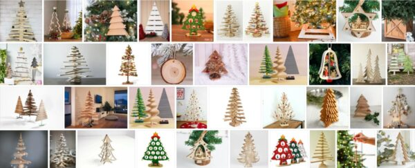 Wooden Christmas Trees,105 Sample Models, How Do You Make a Wooden Christmas Tree?
